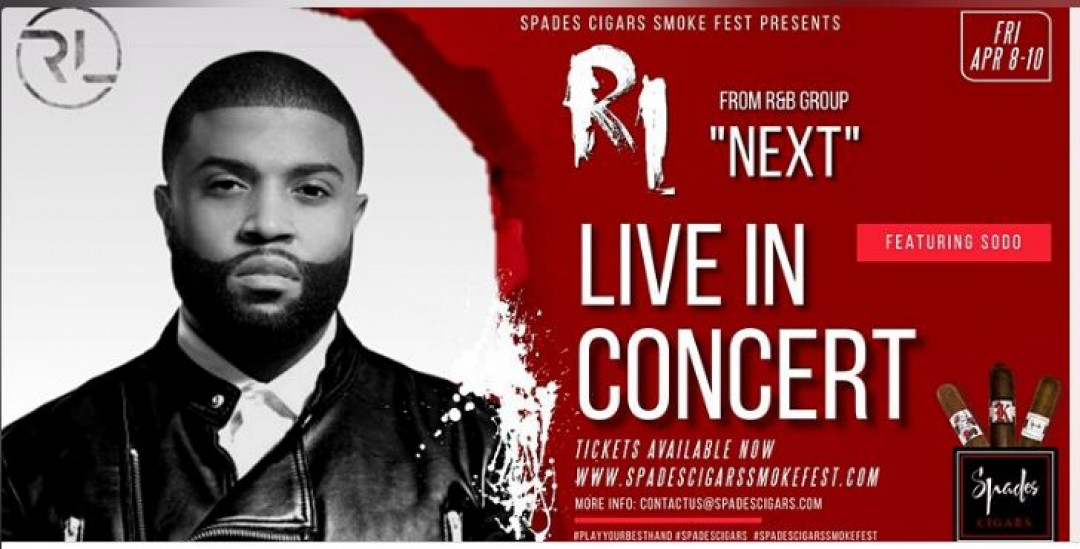 """Spades Cigars Smoke Fest presents RL from R&B Group """"NEXT"""""""