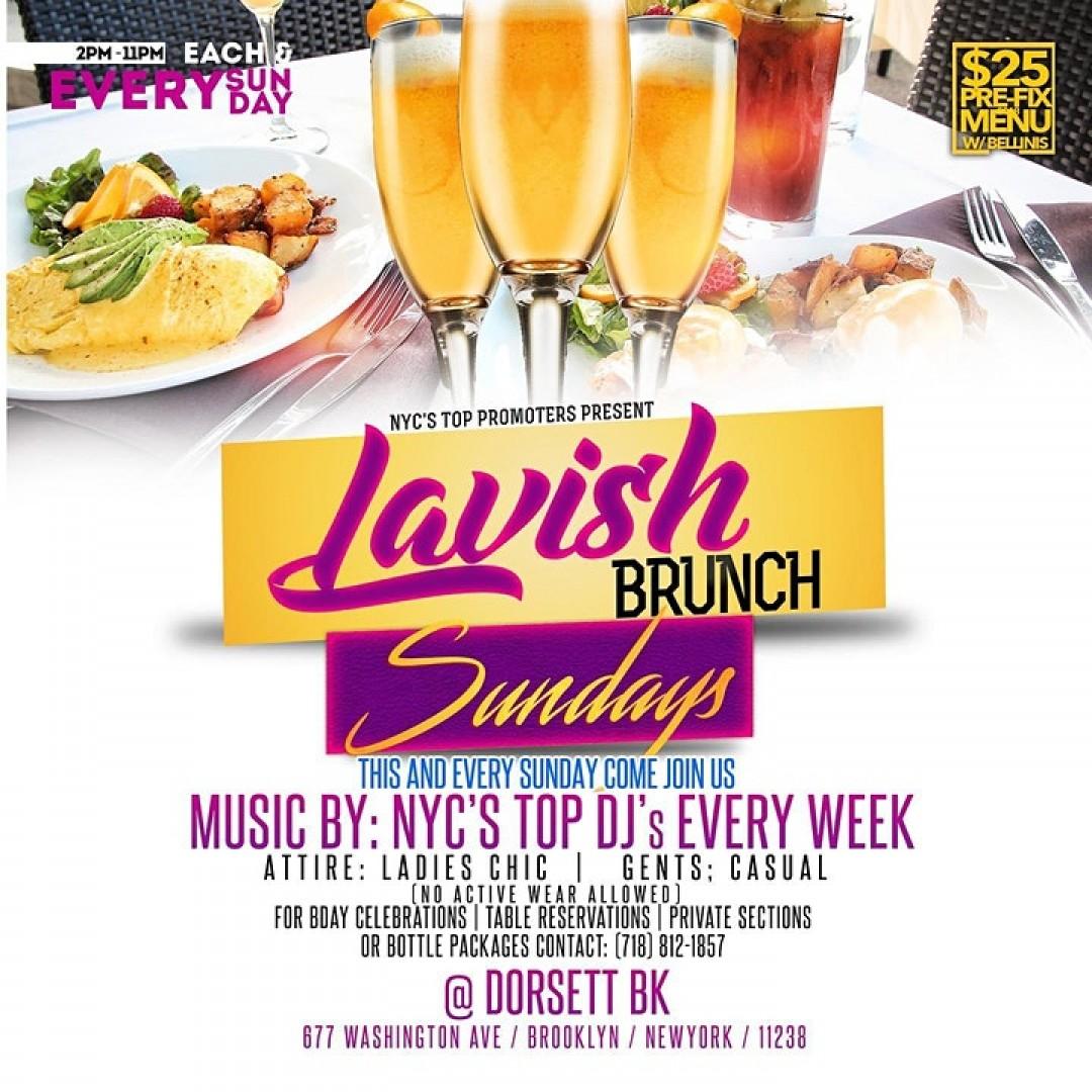 LAVISH BRUNCH SUNDAYS @ DORSETTBK