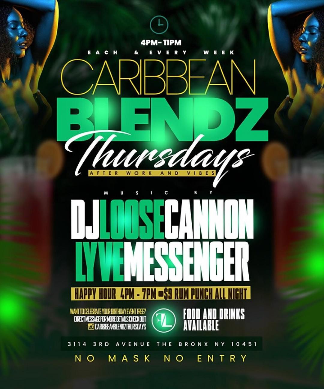 CARIBBEAN BLENDZ THURSDAYS