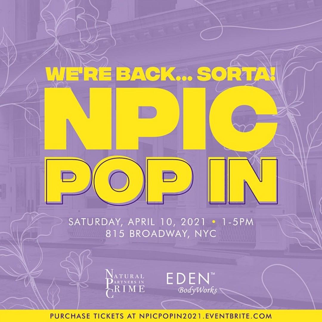 We Back... Sorta! NPIC POP-IN