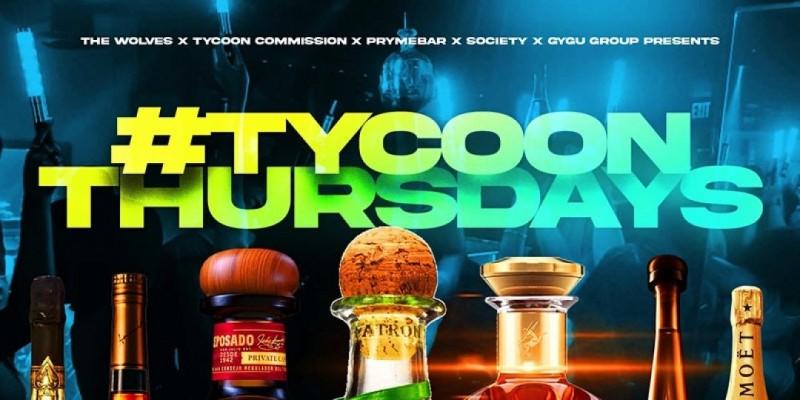 TycoonThursdays at Pryme Bar Dallas