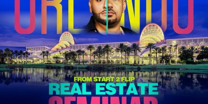 Cesar & DJ Envy's Real Estate From Start 2 Flip seminar  ORLANDO