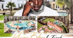 Young Bleu Celebrity mansion birthday party Atlanta