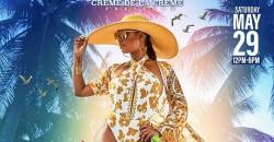 Creme del la creme Designer Bathing Suit Miami Memorial Day Weekend