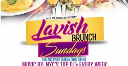 LAVISH BRUNCH SUNDAYS @ DORSETTBK