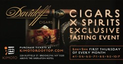 DAVIDOFF CIGAR X SPIRITS SUMMER NIGHT SERIES 2021