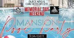 Memorial Day Weekend Mansion Pool Party Atlanta