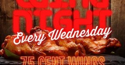 Wednesday Wing Night @ Bar 2200| 75 Cent Wings | Happy Hour | $20 Hookah
