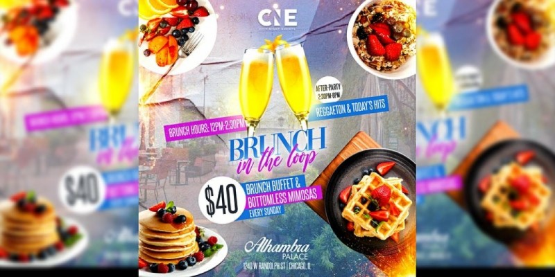 Bottomless Brunch in Downtown Chicago 4th of july weekend