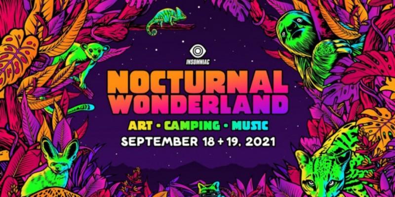 Nocturnal Wonderland 2021 at Glen Helen Regional Park – San Bernardino california