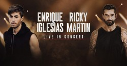 Enrique Iglesias & Ricky Martin At Madison Square Garden nyc