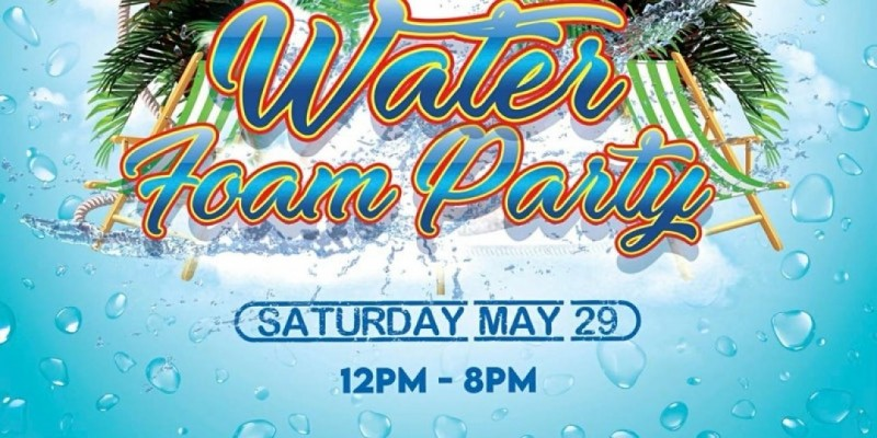 Water Passa Passa/Foam event and LLS in the Park Memorial Day Weekend