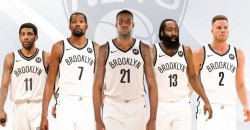 Brooklyn Nets vs. Portland Trail Blazers At Barclays center nyc