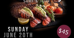 Father's Day Weekend Surf & Turf Event