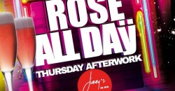 "Rosé ""All Daÿ ""Thursdaÿ's with DJ NORIE ladies night"