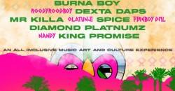 Native Festival : Burna boy | Dexta Daps Cancun Mexico Labor day weekend