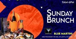 Sunday Brunch at Blue Martini Atlanta Memorial Day weekend
