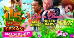 Texas  : Memorial Day Weekend with Dexta Daps | Mr Killa