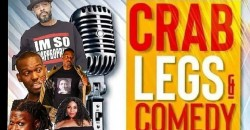 Crab LEGS and comedy variety show at Uptown Comedy Club ATLANTA