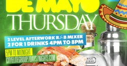 R & B Seafood Thursdays De Mayo At Katra nyc