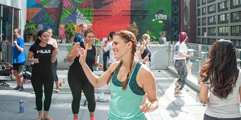 Spirit(s) Yoga at Moxy Times Square NYC
