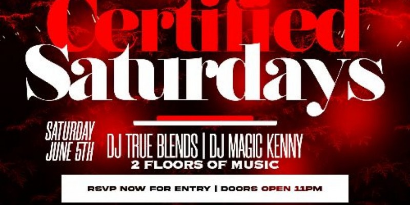 The Re grand opening of certified Saturdays at katra Nyc