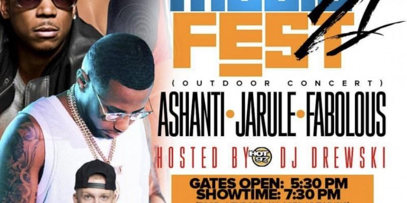Ashanti, Ja Rule, & Fabolous Concert in Long Island
