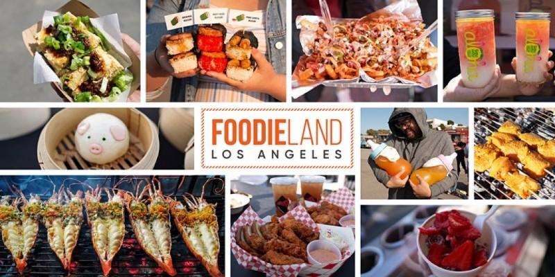 FoodieLand Night Marke - Los Angeles