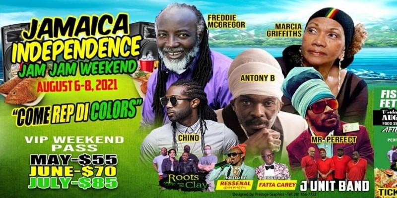 Jamaica Independence -  Houston