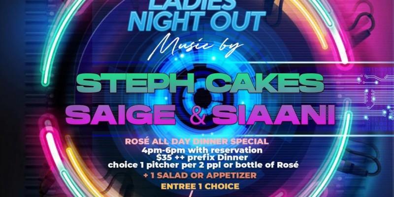 "Rosé ""All Daÿ ""Thursdaÿ's Ladies Night with DJ STEPHCAKES"