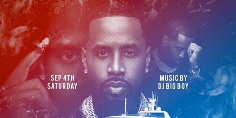 VH1's Safaree & Friends Labor Day Weekend Yacht Party NYC