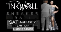 INKwell Yacht Club Midnite Sneaker Ball Gala Cruise
