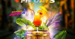 Labor Day Weekend Caribbean Fridays At Jimmys  NYC With Free Rum Punch
