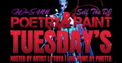 Poetry and Paint every Tuesday - Houston