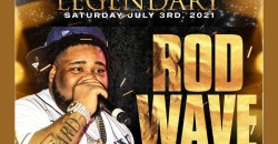 Rod Wave Performing Live in Orlando - 4th of July Weekend