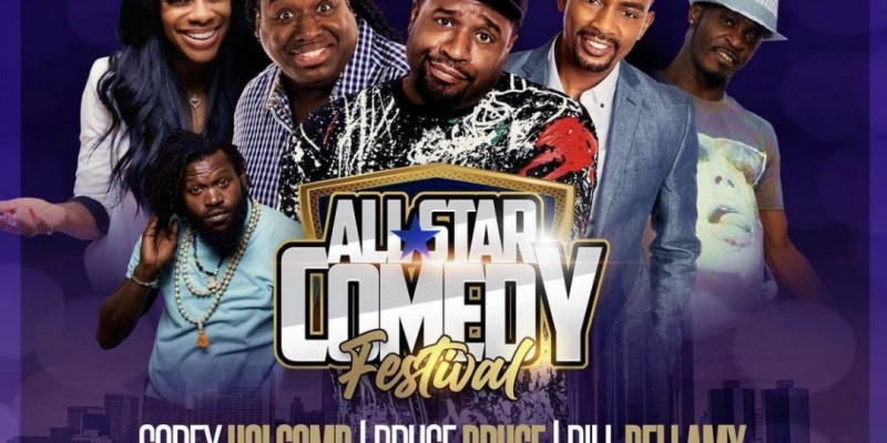 All Star Comedy Festival - Detroit feat. Cory Holcomb, Bruce Bruce, Bill Bellamy, Jess Hilarious & more