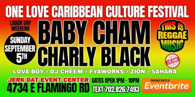 BABY CHAM CHARLY BLACK LIVE IN LAS VEGAS LABOR DAY WEEKEND
