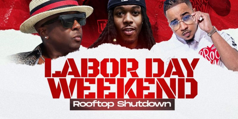 Hot 97 Labor Day Roof Top Shut down Capella Grey Performing Live NYC