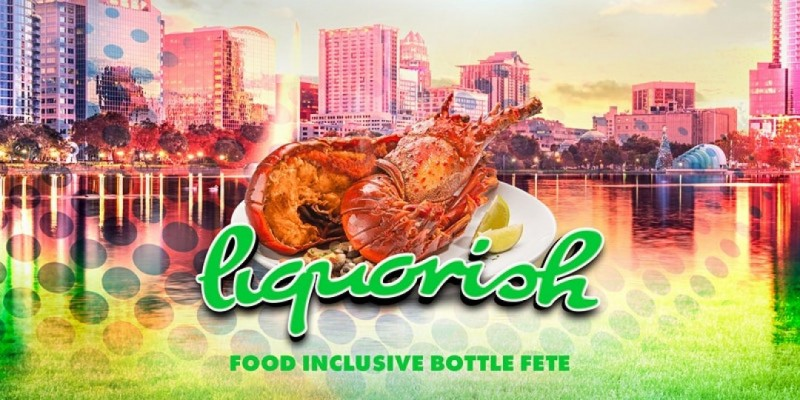 Liquorish Food Inclusive Bottle Fete - Orlando