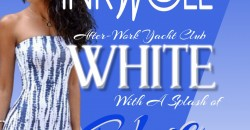 INKwell Tuesday Afterwork Yacht Club White with A Splash of Blue Cruise