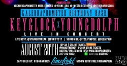 Key Glock & Young Dolph Live in Concert - Indianapolis, Indiana
