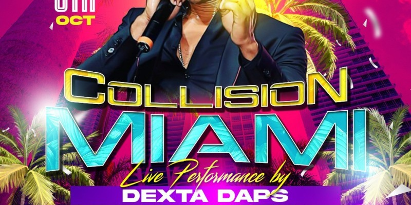 Dexta Daps Live Miami Carnival aka COLUMBUS DAY WEEKEND