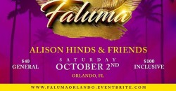 ALISON HINDS & FRIENDS Performing Live In Orlando
