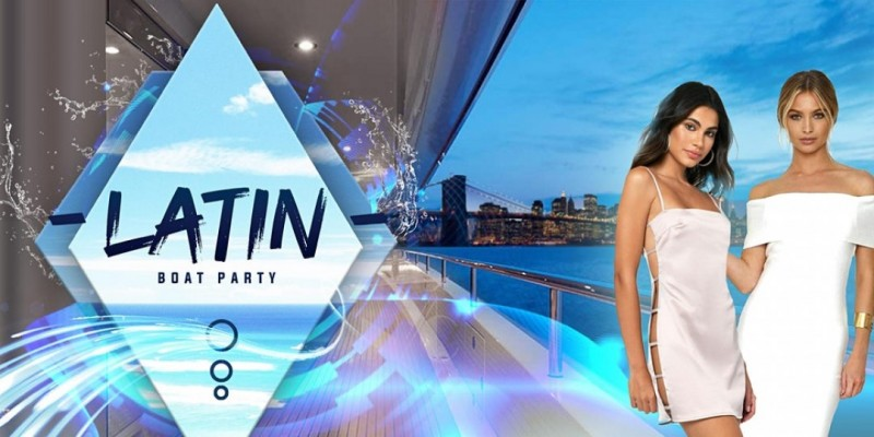 #1 LATIN MUSIC BOAT PARTY YACHT CRUISE    NYC Saturday Oct 16th ,New York