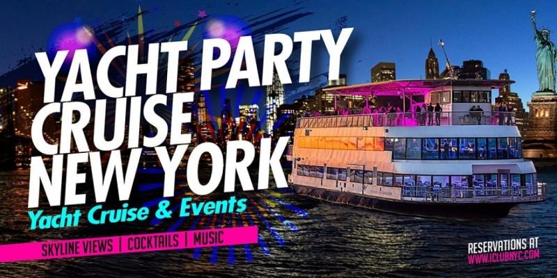 #1 SENSATION  YACHT PARTY CRUISE |New York City Friday oct1st ,New York