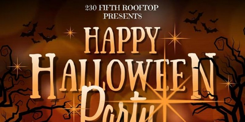 230 Fifth Rooftop Saturday Night Halloween Party ,New York