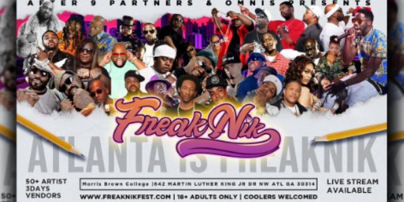 2nd Annual FreakNik Festival 2021 HBCU Homecoming Edition , Atlanta