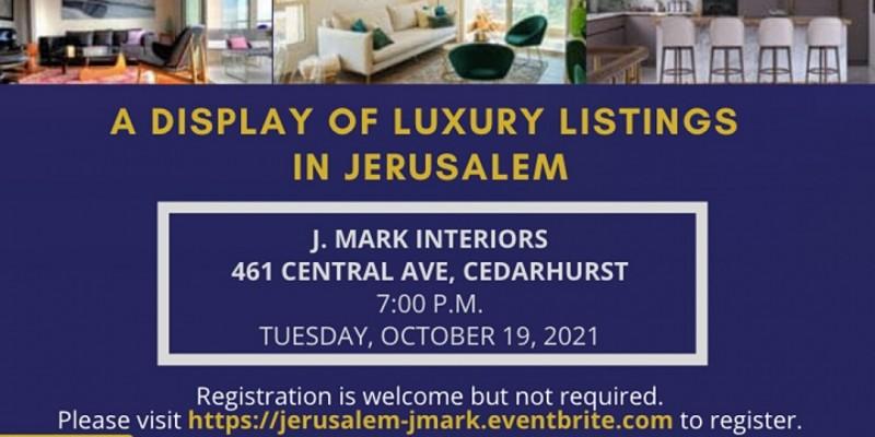 A Display of Luxury Listings in Jerusalem ,Cedarhurst