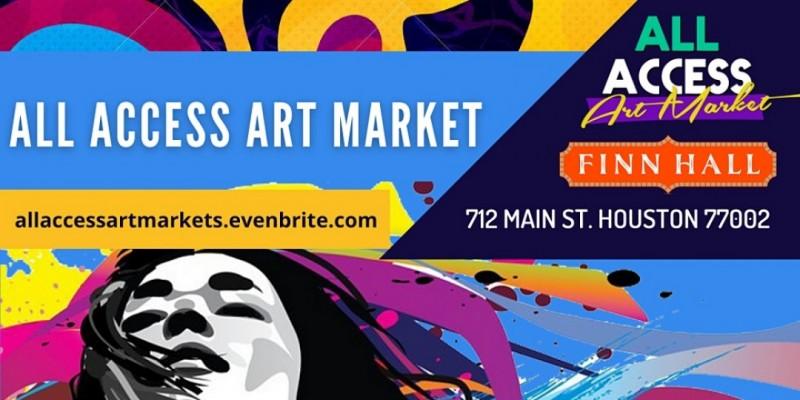 All Access Art Market: Finn Hall ,Houston