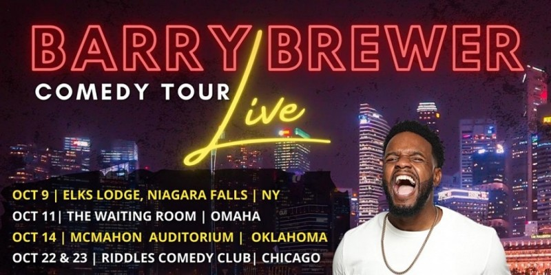 Barry Brewer Comedy Tour ,Hapeville